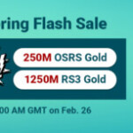 Group logo of Come to RSorder Pre-Spring Flash Sale to Take Free Runescape 2007 Gold Feb. 26